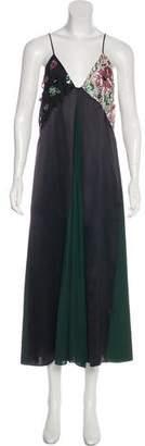 Christopher Kane Silk Embellished Dress