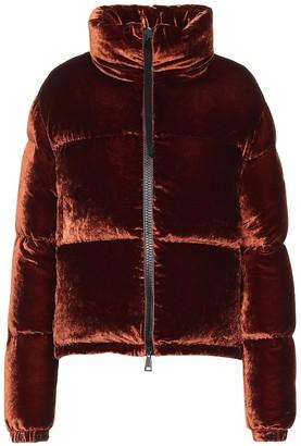 Moncler Rimac velvet puffer jacket