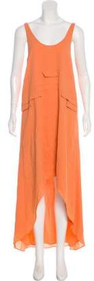 Kimberly Ovitz Sleeveless Maxi Dress