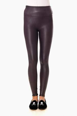 Spanx Wine Ready to Wow Faux Leather Leggings