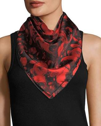 Givenchy Roses Silk Twill Scarf