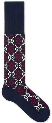 Gucci GG Diamond cotton socks