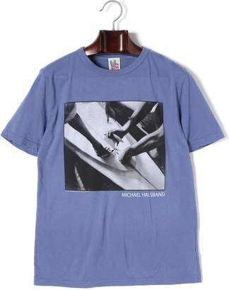 Junk Food Clothing (ジャンクフード) - JUNK FOOD プリント クルーネック 半袖Tシャツ オーバーウォッシュ s