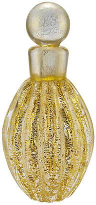 One Kings Lane Vintage Midcentury Murano Blown Gold Perfume