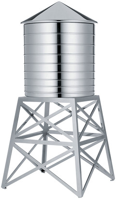 Alessi Water Tower Container - Stainless Steel