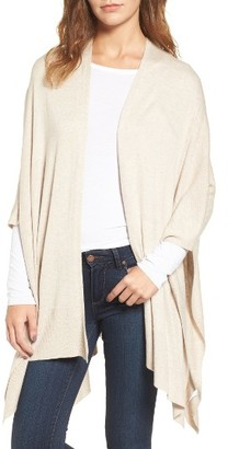 Women's Nordstrom Knit Poncho $69 thestylecure.com