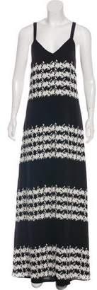 Thakoon Silk Printed Maxi Dress