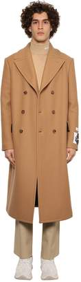 MSGM Double Breast Cloth Virgin Wool Coat