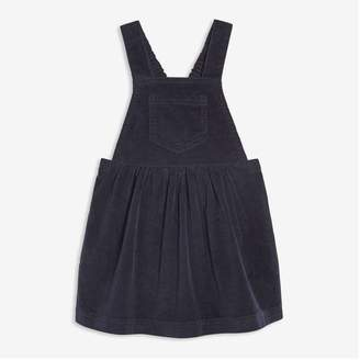 Joe Fresh Baby Girls' Corduroy Pinafore, Dark Blue (Size 12-18)