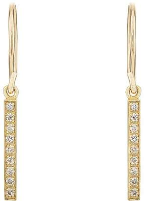 Jennifer Meyer Women's Long Bar Drop Earrings