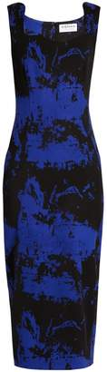 Osman Eve wool-blend crepe dress