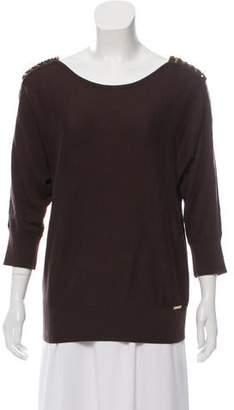 MICHAEL Michael Kors Embellished Knit Top
