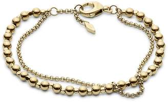 Fossil Double Chain Bracelet