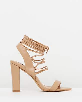 ICONIC EXCLUSIVE - Sienna Lace-Up Heels