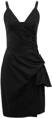 Victoria Beckham Victoria, Front Tie Mini Dress
