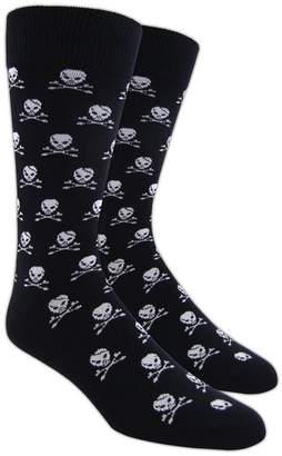 The Tie Bar Skull And Crossbones