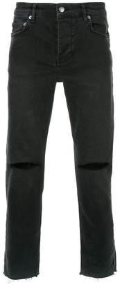 Ksubi Black Chitch Chop Grave jeans
