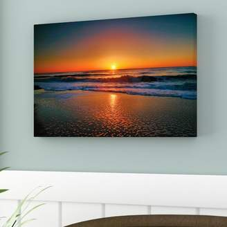 Beachcrest Home 'Morning Has Broken Ii' Photographic Print on Wrapped Canvas