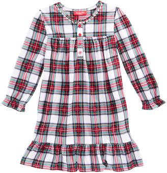 Macy's Family Pajamas Matching Stewart Plaid Nightgown, Available in Toddler and Kids, Created for