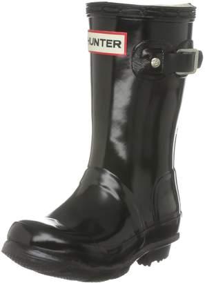 Hunter Boots Girls' Original Young Gloss Rain Boot 2 M US