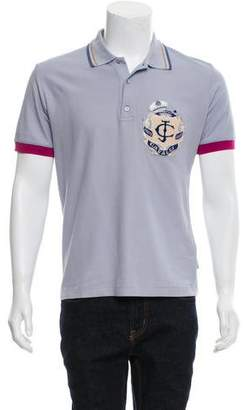 Just Cavalli Woven Polo Shirt