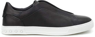 Tod's Tods Hammered Leather Slip-ons