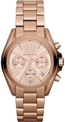 Michael Kors MK5799 Mini Bradshaw rose gold-plated watch
