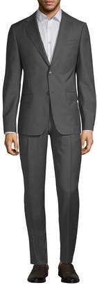 Ermenegildo Zegna Solid Wool Suit