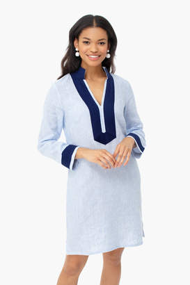 Sail to Sable Blue Stripe Long Sleeve Classic Tunic