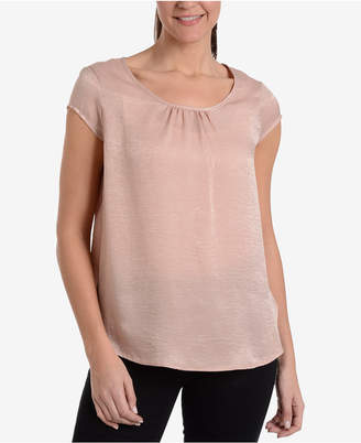NY Collection Shirred Top