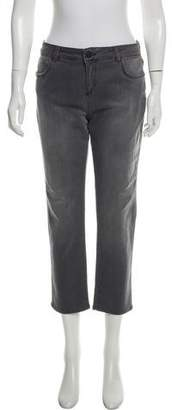 Gerard Darel Cropped Mid-Rise Jeans