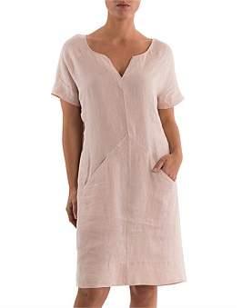 Ping Pong Short Sleeve Raglan Dress