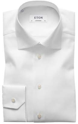 Eton Contemporary-Fit Cavalry Twill Dress Shirt