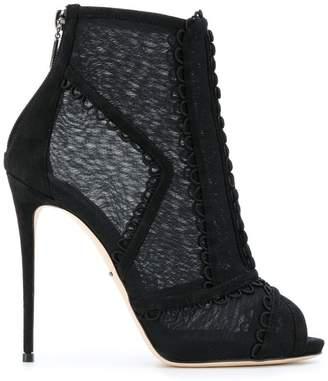 Dolce & Gabbana heeled shoe boots