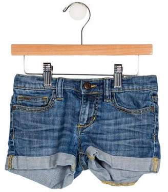 Joe's Jeans Girls' Denim Mini Shorts