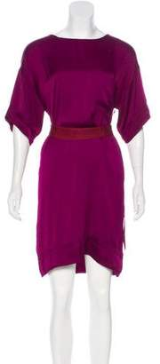 Lanvin Short Sleeve Shift Dress