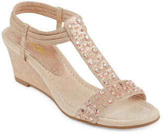 East Fifth east 5th Womens Finley Wedge Sandals