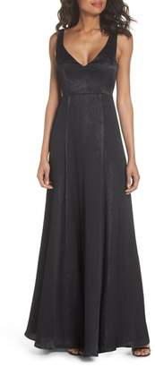 Show Me Your Mumu Jen V-Neck Gown