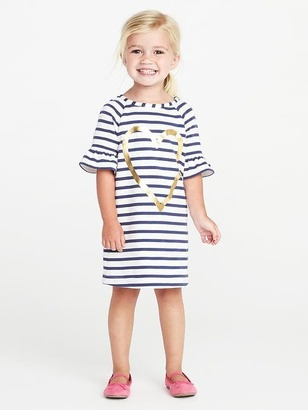 French-Terry Shift Dress for Toddler Girls $19.99 thestylecure.com