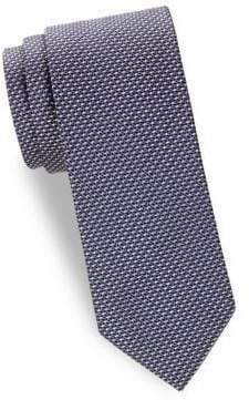 Brioni Embroidered Silk Tie