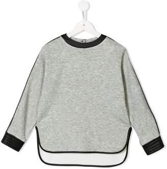 Roberto Cavalli Junior high low sweatshirt