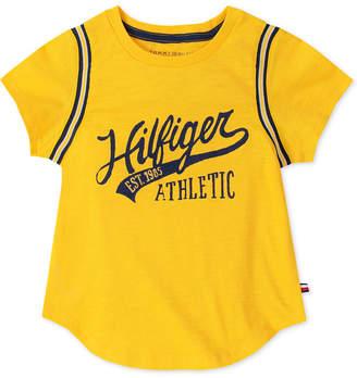 Tommy Hilfiger Big Girls Athletic T-Shirt