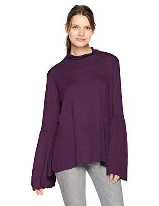 Velvet by Graham & Spencer Women's Xena Lux Slub Shirt