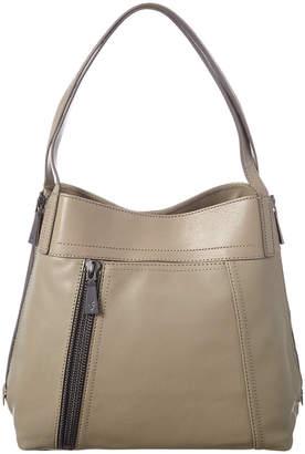 Frye Lena Leather Zip Shoulder Bag