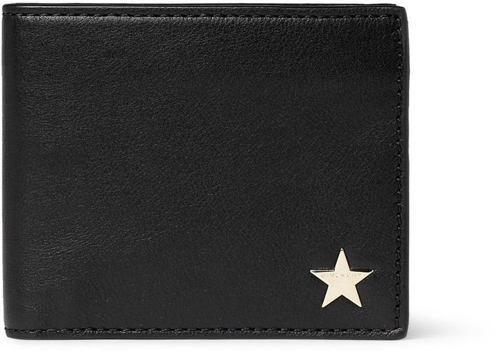 Givenchy Star Leather Billfold Wallet