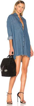 GRLFRND Shaun Boyfriend Shirt Dress