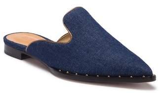 Schutz Tae Denim Studded Loafer