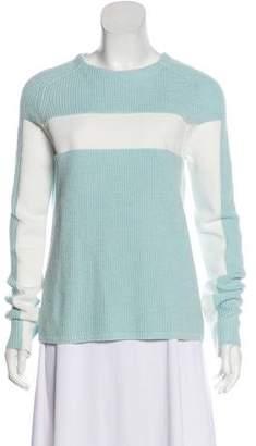 Alexander Wang Two-Tone Long Sleeve Sweater