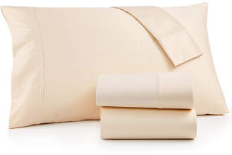 Brookstone Queen 4-pc Sheet Set, 500 Thread Count 100% Cotton Sateen, Created for Macy's Bedding