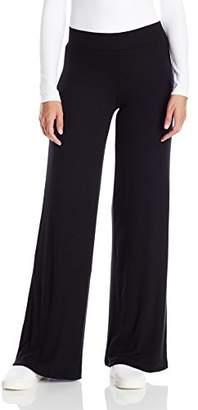 ATM Anthony Thomas Melillo Women's Micro Modal Rib Full Leg Pants